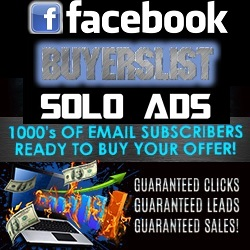 Facebook Buyers List Solo Ads