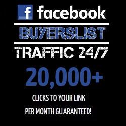 Facebook Buyers List Traffic 24/7