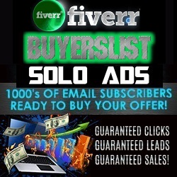 Fiverr Buyers List Solo Ads