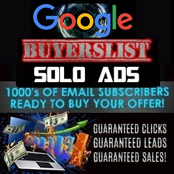 Google Buyers List Solo Ads