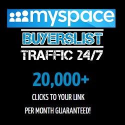 Myspace Buyers List Traffic 24/7