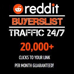 Reddit Buyers List Traffic 24/7